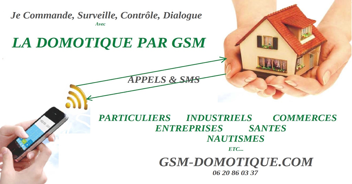 la domotique par GSM