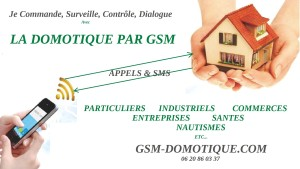 Le SMS domotique