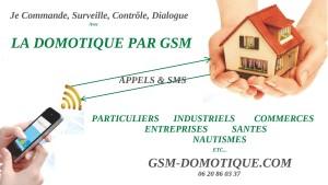 la domotique par GSM - commandes et surveillances par GSM
