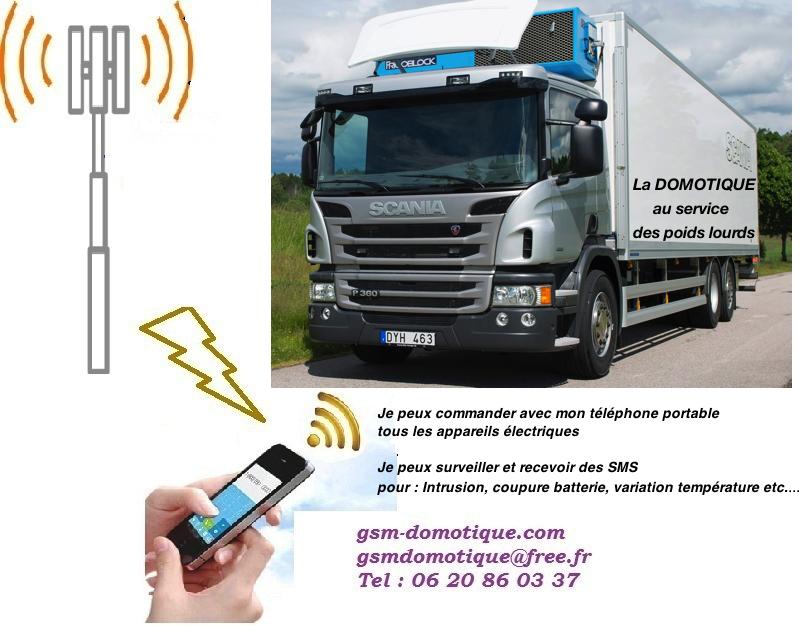 Domotique par GSM pour tous