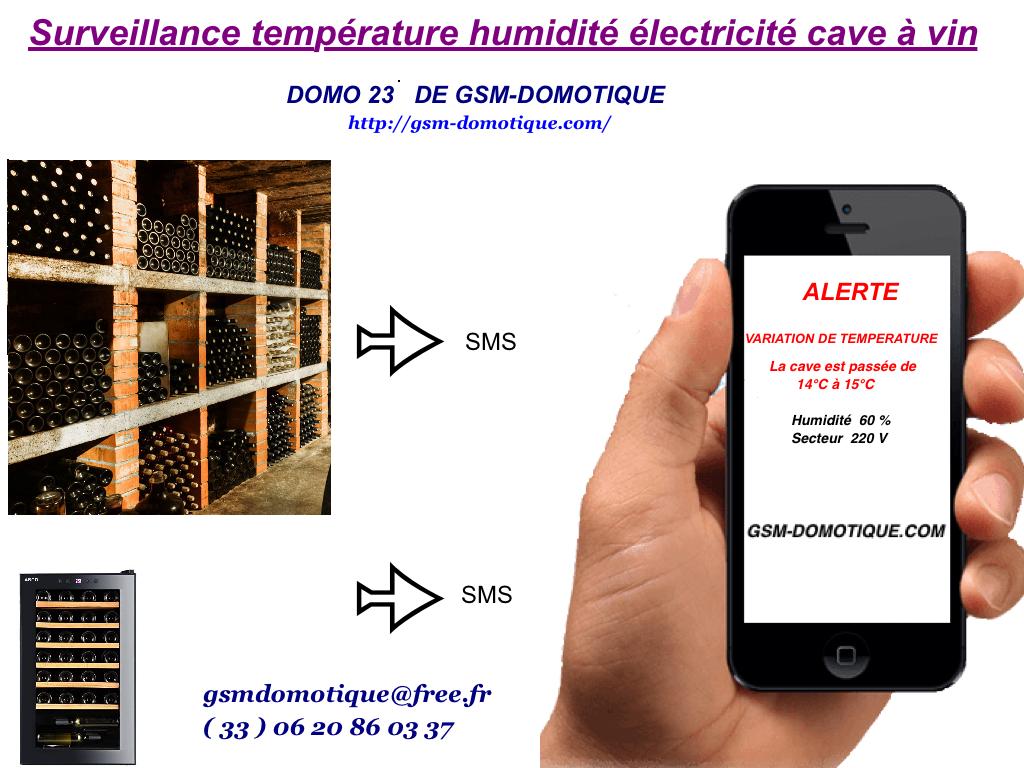 Surveillance-température-humidité-électricité-cave-à-vin